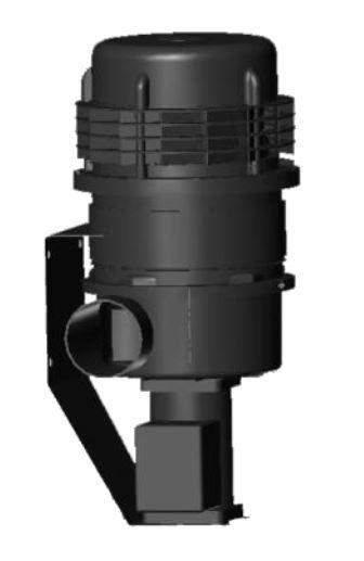 MODEL S CONSTANT FLOW PRECLEANER CHARCOAL FILTER 12/24V