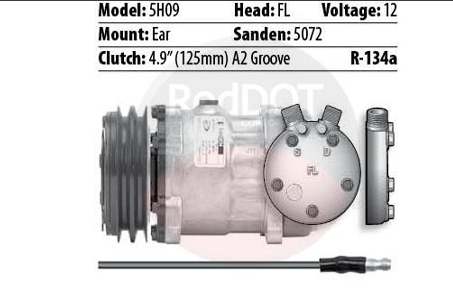 12V EAR-SD5 FL 1-WIRE 2GRV
