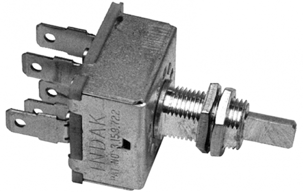 3 Speed Rotary Switch Long Shaft